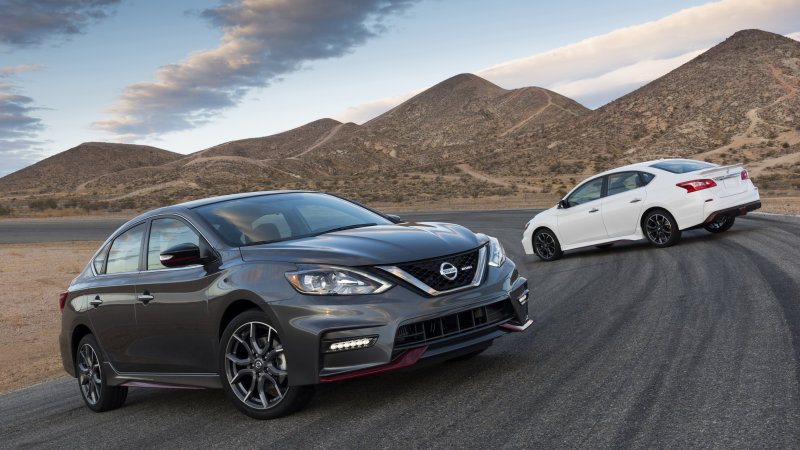 Nissan Today Kicked Off Its Slate Of New Product Debuts At The Los Angeles  Auto Show With A Preview Of The New 2017 Nissan Sentra NISMO In Downtown Los  ...