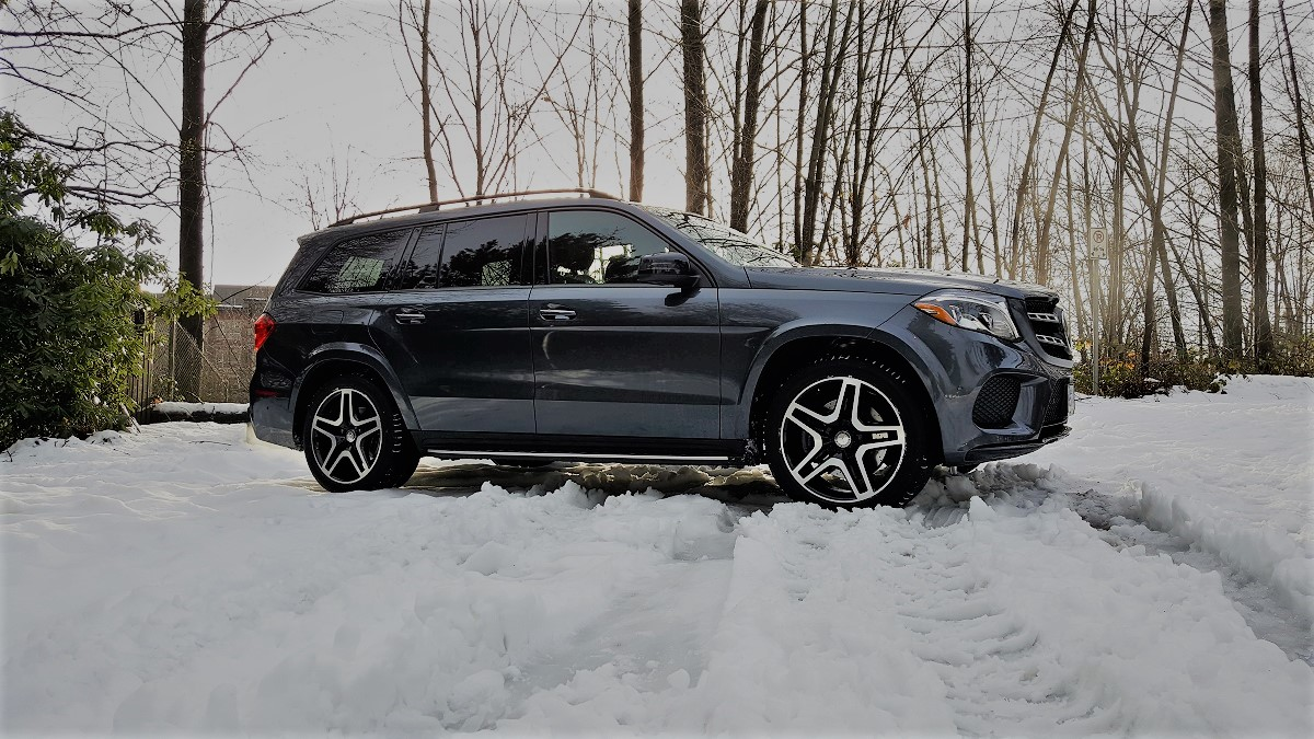2017 Mercedes Benz Gls450 Rack And Opinion